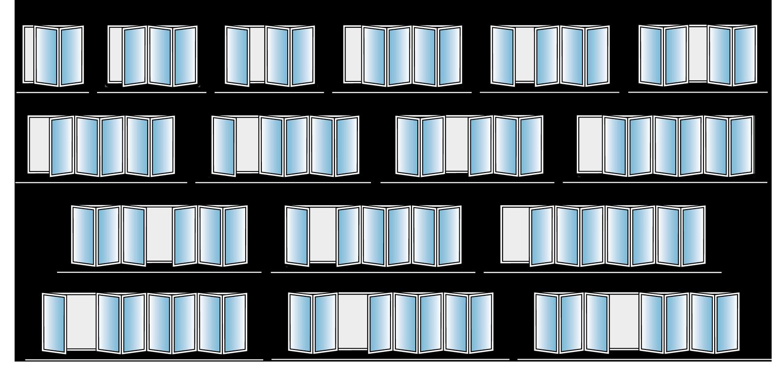Bifold Doors Configurations